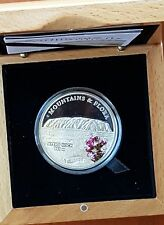 Palau 2010 Ayers Rock $5 Coloured Silver Coin Proof - Limited Mintage 2500