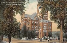 1911 Public School Port Richmond NY post card Staten Island