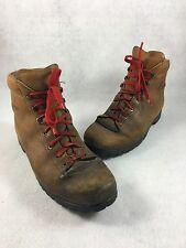Kastinger Mountaineering Leather Boots Vibram Soles AUSTRIA Men's 10 HIKING
