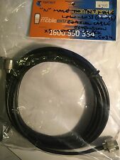 """Coaxial Extension LL195 Low-Loss Cable """"N""""-Male to """"N""""-Male x5 Metres. Brand New"""