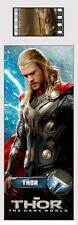 THOR The DARK WORLD 2013 Marvel Superhero Movie FILM CELL PLASTIC BOOKMARK New