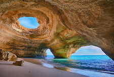 Framed Print - Stunning Sea/Ocean Cave (Picture Poster Rock Water Waves Holiday)