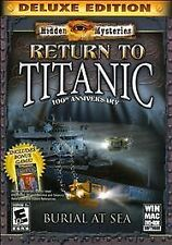 Hidden Mysteries: Return to Titanic - PC Game Mill Video Game