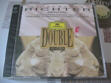 SEALED 2 CD RICHTER Recital Bach Chopin Debussy Haydn 1995 DG France