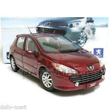 1/18 Scale Peugeot 307 Red DieCast Toy Car Model