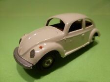 METOSUL VW VOLKSWAGEN BEETLE - BROKEN WHITE 1:43 - GOOD CONDITION