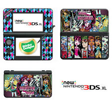 Monster High Vinyl Skin Sticker for NEW Nintendo 3DS XL (with C Stick)