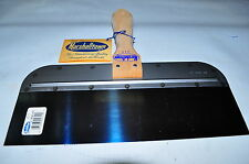 "Marshalltown 2512 Blue Steel Taping Knife with Wood Handle 12""x3"" Made in USA"
