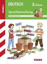 STEFANIE KOSCHMANN - ARBEITSHEFTE GRUNDSCHULE: DEUTSCH SPRACHBETRACHTUNG 3. KLA