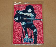KISS Paul Stanley METAL CARD SEALED COLLECTIBLE RARE TOY ARGENTINA