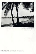 Kolonie Ostafrika * Hauptstadt Daressalam * Bilddokument um 1938