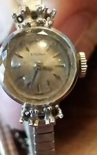 Vintage Eterna ladies watch Swiss made 14K gold case