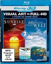 Sunrise & In 60 Minuten um die Welt Blu Ray 3D + 2D Version  ***Neu OVP***