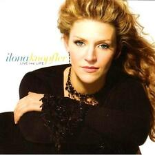 ILONA KNOPFLER - Live The Life (CD 2005) USA Import MINT Vocal Jazz-Pop