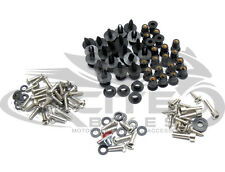 Fairing bolts kit, stainless steel, Kawasaki ZX-6R 2009-2012 09 10 11 12 #BT142#