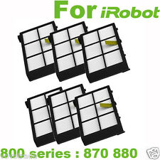 6 Pack Hepa Filter Replacement For irobot Roomba 800 series 870 880 Best quality