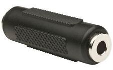 3.5mm MONO Jack Coupler Joiner Audio Adaptor Gender Changer Connector