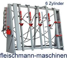 Holzmann Verleimständer VSTR 3000 Rahmenpresse , hydraulisch, 6 Zylinder