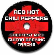 78 RED HOT CHILI PEPPERS STYLE ROCK GUITAR MP3 BACKING TRACKS CD LIBRARY