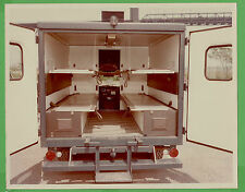 VTG 1976 Jeep J-200 US Air Force Ambulance File Photo 5124 Rear Open Initerior N