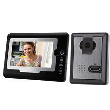 """7"""" LCD Video Door Phone IR Night Vision Waterproof Visual Intercom Doorbell"""