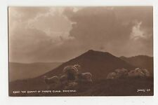 The Summit of Thorpe Cloud Dovedale, Judges 4965 Postcard, A923