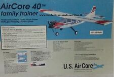 U.S. AIRCORE 40 FAMILY TRAINER AEREOMODELLO A SCOPPIO IN KIT DI MONTAGGIO