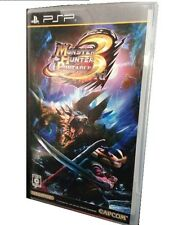 Used PSP Monster Hunter Portable 3rd the standard ed. Japan import
