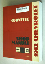 1982 CORVETTE SHOP SERVICE REPAIR MANUAL ENGINE DRIVE TRAIN MECHANICAL & MORE