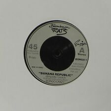 """THE BOOMTOWN RATS 'BANANA REPUBLIC' FRENCH IMPORT 7"""" SINGLE"""