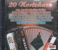 Los Rancheritos Del Sur Miguel Bugarin 20 Nortenas CD New Nuevo sealed