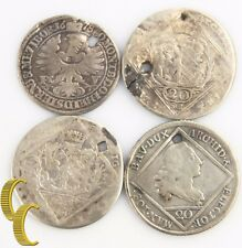 1678-1776 German States Jewelry Lot (4 Coins) Bavaria Nurnberg Wurttemberg-Ols