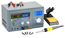 DE-LCD DISPLAY SOLDERING STATION WITH DIGITAL-MULTIMETER&DC POWER SUPPLY ZD-8901