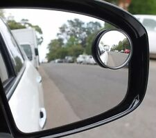 "BLIND SPOT MIRROR ROUND ADHESIVE 2"" INCH EASY FIT WIDE VIEW ANGLE VAN CAR"