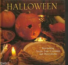 HALLOWEEN BEWITCHING TREATS, EATS, COSTUMES AND DECORATIONS 1999 HARDBACK BOOK