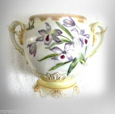 JPL Limoges rare twisted handle jardiniere 1890-1932   FREE SHIPPING