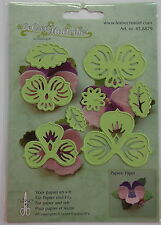 LeCrea' Multi Die Cutter - Pansy, craft, card making, scrapbooking 8879