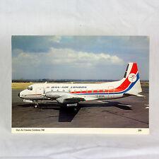 Dan Air - HS 748 - G BEBA - Avion Carte postale - Qualité Supérieure
