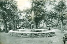 Peoria,IL. The Fountain in South Park 1909