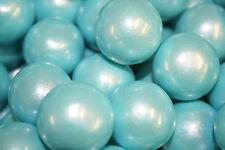 GUMBALLS SHIMMER POWDER BLUE 25mm or 1 inch (57 count), 1LB
