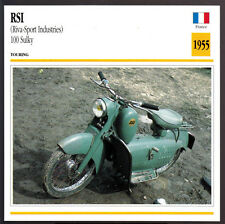 1955 RSI (Riva-Sport Industries) 100 Sulky 98cc Scooter Motorcycle Photo Card