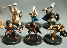 Dungeons & Dragons Miniatures Lot  Dwarf Gnome Halfling Characters !!  s77