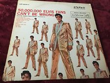 """Elvis Presley """"50,000,000 Elvis Fans Can't Be Wrong"""" LSP-2075(e) 1st Pressing!"""