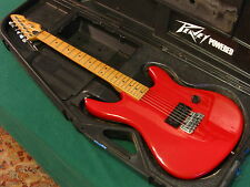 Peavey Patriot Guitar - Made In USA - Fire Engine Red - OHSC