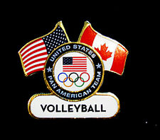 TORONTO 2015 Pan Am Olympic Games LIMITED USA Volleyball team pin