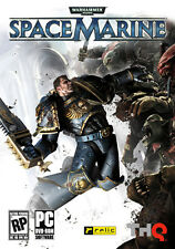 Warhammer 40,000 Space Marine for PC SEALED NEW