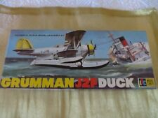ITC MODEL CRAFT GRUMMAN J2F DUCK PLANE NO. 3727-98 SCALE MODEL PLANE