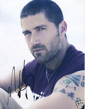 MATTHEW FOX - LOST AUTOGRAPH SIGNED PP PHOTO POSTER