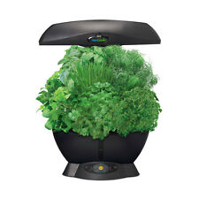 Miracle-Gro 901011-1200 AeroGarden 6 Soil Free Compact Indoor Garden, Black