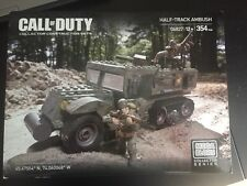 Mega Bloks Call of Duty Legends Half-Track Ambush #06827 (NEW)